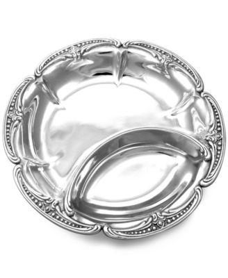 Wilton Armetale Serveware, Belle Mont Chip & Dip