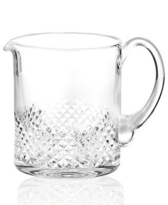 "Waterford Barware, Alana Essence Pitcher 4"""