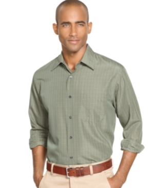 Van Heusen Shirt, Liquid Check Shirt