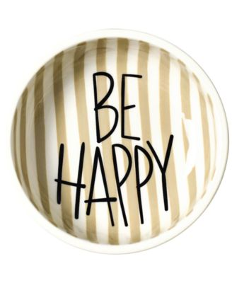 by Laura Johnson Mint Dot Be Happy Dipping Bowl