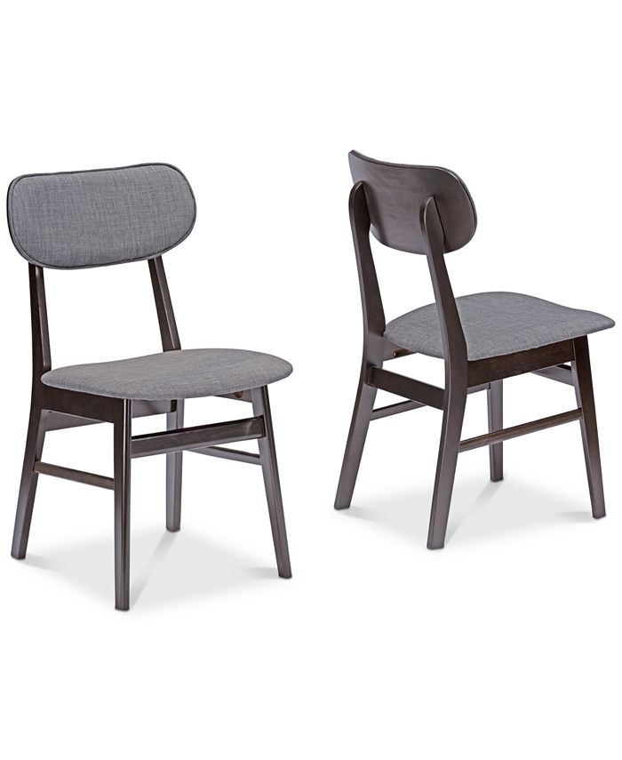 Furniture - Nyree Dining Chair (Set of 2), Quick Ship