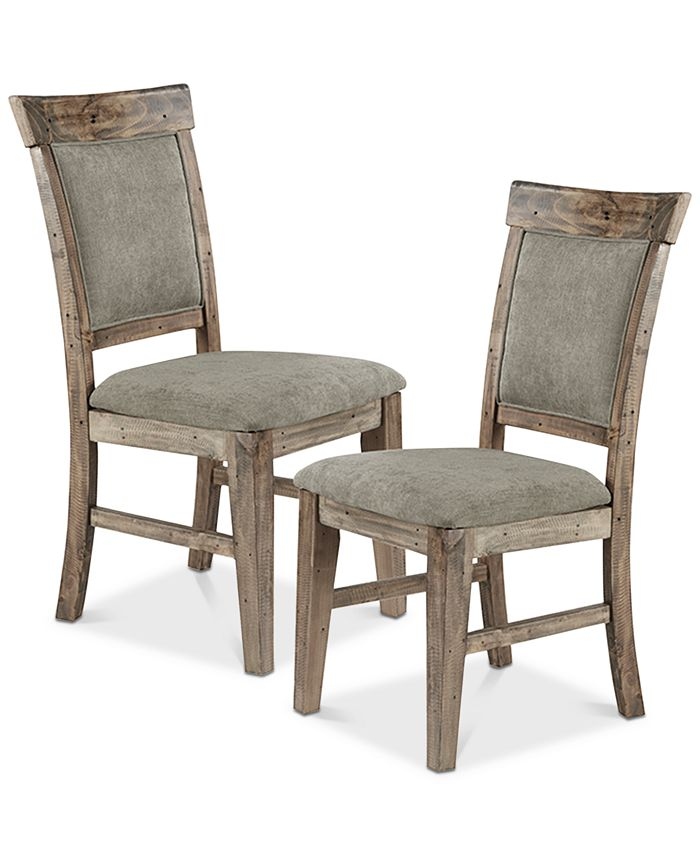 Furniture - Oliver Side Chair (Set Of 2), Quick Ship