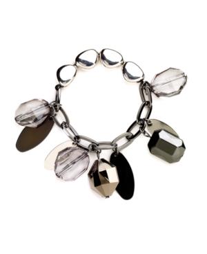 Nine West Bracelet, Beaded Stretch Bracelet