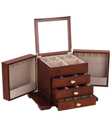 reed barton jewelry box amelia jewelry chest