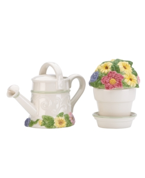 Lenox Dinnerware, Floral Meadow Sugar and Creamer Set