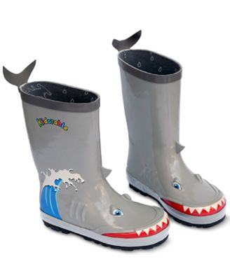 Little Boys Shark Rain Boots