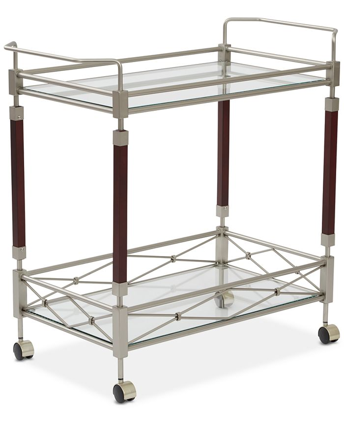 Office Star - Ronell Serving Cart, Quick Ship