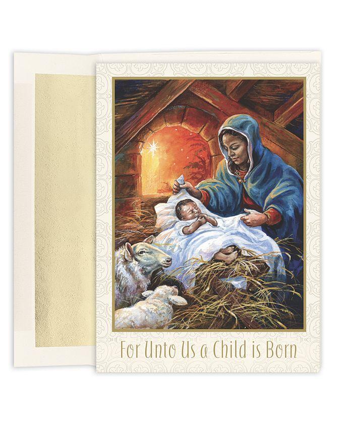 Masterpiece Studios - Mary & Joseph Boxed Cards