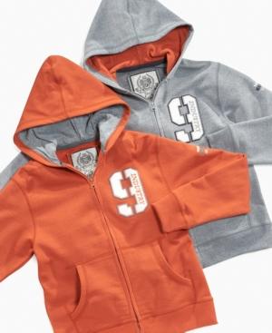 Industry 9 Kids Hoodie, Boys Full Zip Logo Fleece Hoodie