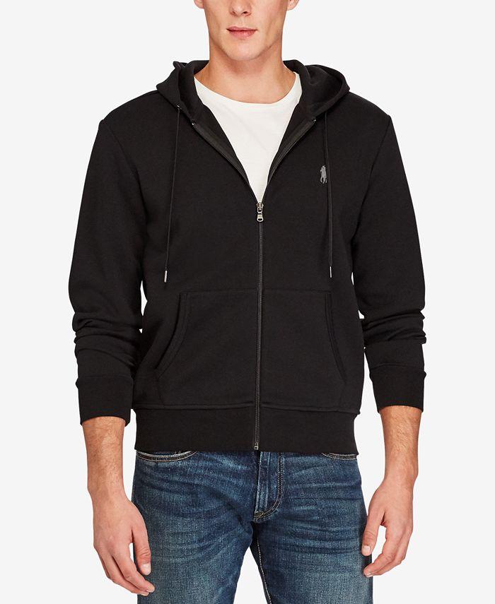 Polo Ralph Lauren - Men's Double-Knit Full-Zip Hoodie All Sizes