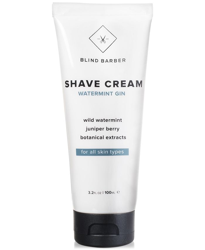 Blind Barber - Watermint Gin Shave Cream, 3.2-oz.