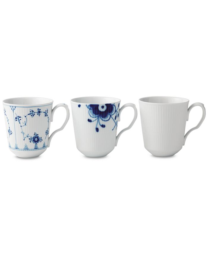 Royal Copenhagen - Gifts with History Mugs, Set of 3