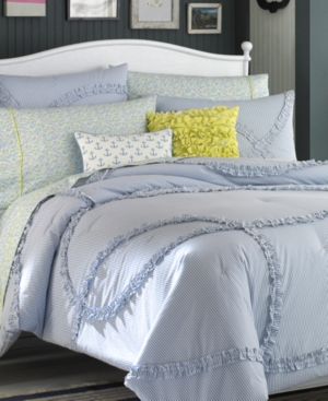 Teen Vogue Bedding, Nantucket Stripe Full/Queen Comforter Set Bedding