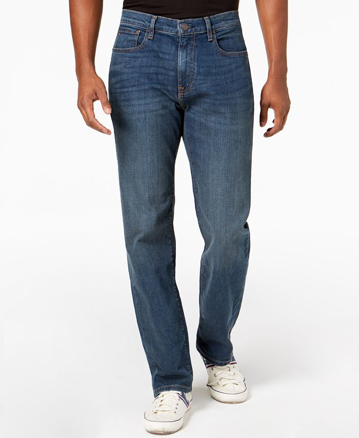 Tommy Hilfiger - Men's Relaxed Stretch Jeans