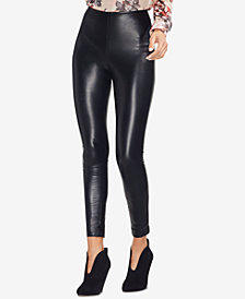 Vince Camuto Faux-Leather Skinny Pants