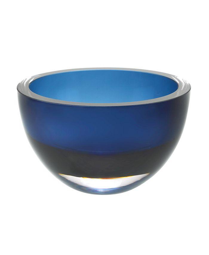 "Badash Crystal - Midnight 6"" Bowl"