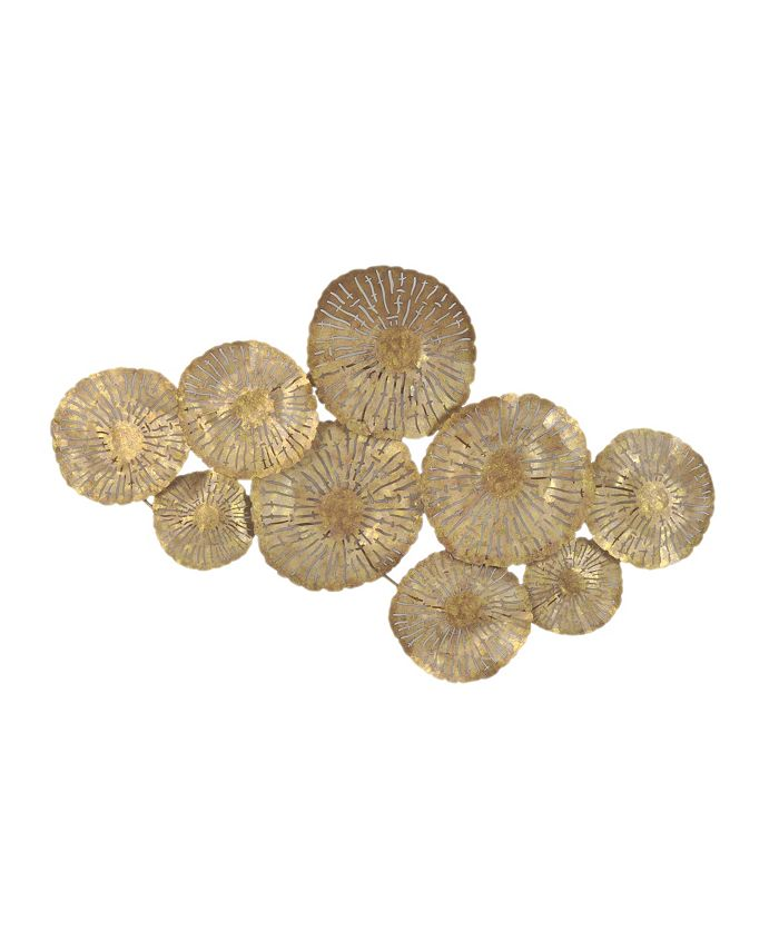 Moe's Home Collection - LARGE CIRCLES WALL DeCOR GOLD