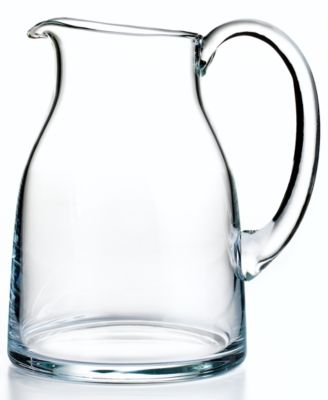 French Home Glassware, Paris 80oz Pitcher