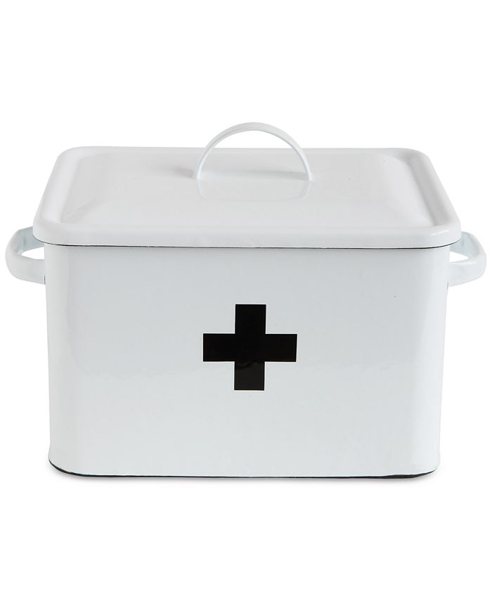 3R Studio - Enameled First Aid Box with Lid