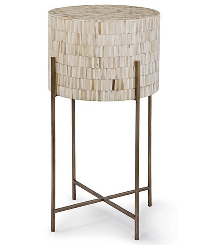 Regina Andrew Design - Bone Drum Table, Quick Ship