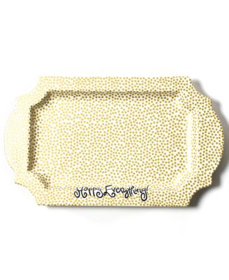 Gold Small Dot Traditional Tray