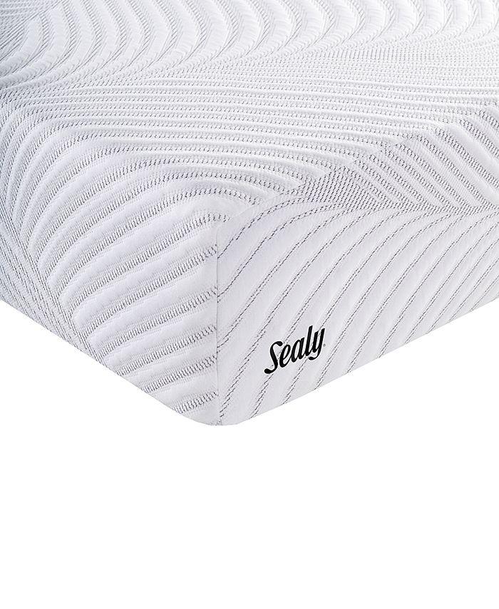 "Sealy - Conform 11"" Optimistic Plush Memory Foam Mattress - Twin"
