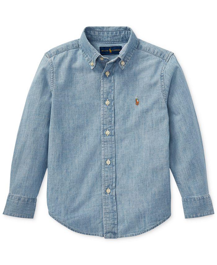 Polo Ralph Lauren - Little Boys Cotton Chambray Shirt