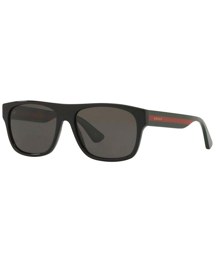 Gucci - Polarized Sunglasses, GG0341S 56