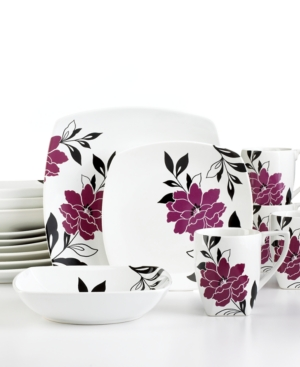 222 Fifth Dinnerware, Belinda 16 Piece Set