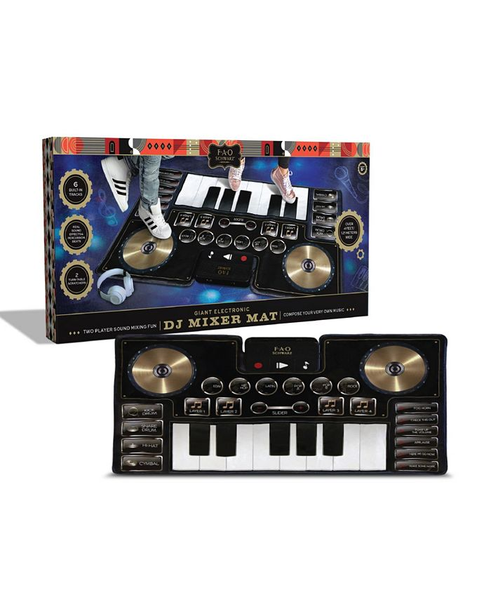 FAO Schwarz - Toy Music Mat DJ Mixer