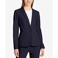 Deals on Calvin Klein One-Button Blazer