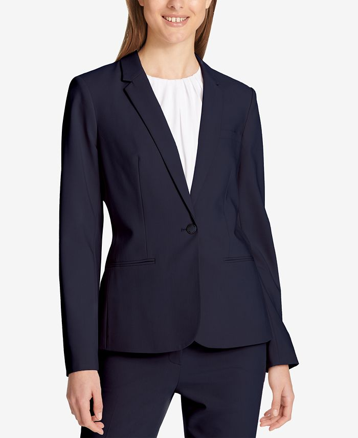 Calvin Klein - One-Button Blazer