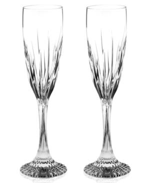 Baccarat Champagne Flutes, Set of 2 Jupiter