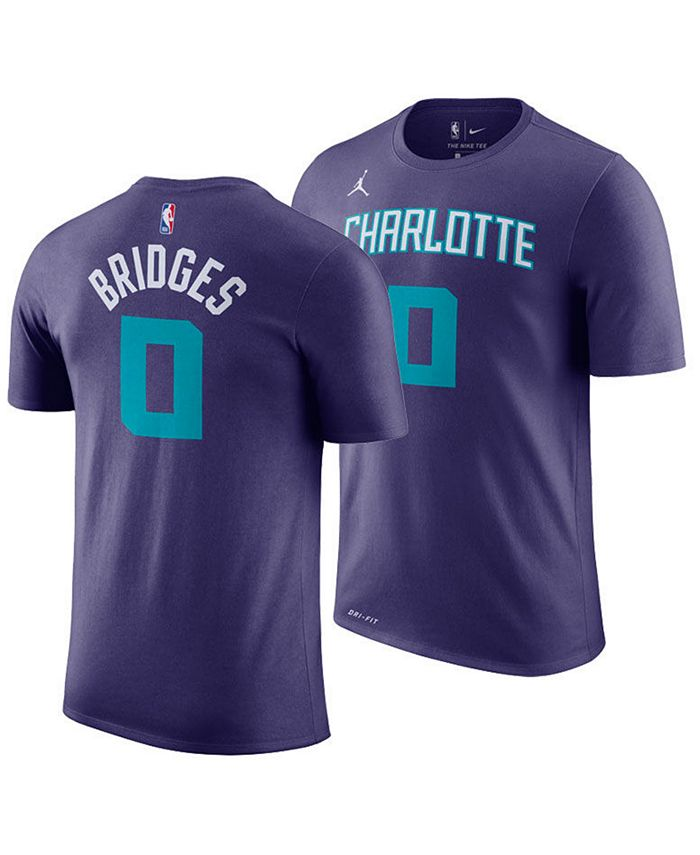 Jordan Men's Miles Bridges Charlotte Hornets Statement Player T ...
