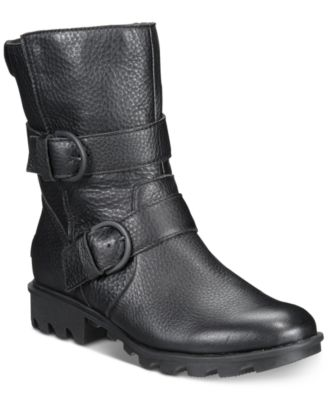 Sorel Women's Phoenix Moto Boots