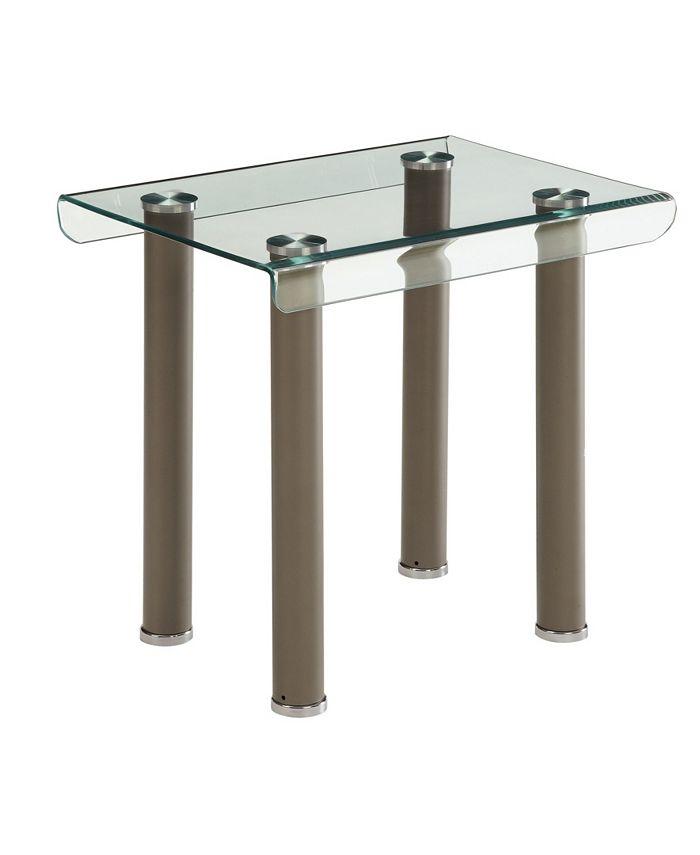 Furniture of America - Karnette End Table, Quick Ship