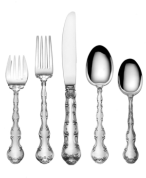 Gorham Sterling Silver Flatware, Strasbourg 5 Piece Dinner Place Setting