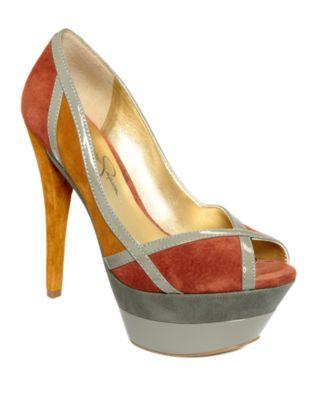 Jessica Simpson Shoes, Match Platform Pumps