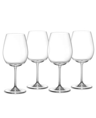 Marquis by Waterford Wine Glasses, Set of 4 Vintage Full Bodied Red Wine