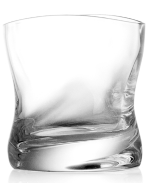 Nambe Drinkware, Set of 2 River Double Old Fashioned Glasses