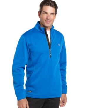 Izod Sweater, Perform-X Ratio Half Zip Tricot Fleece