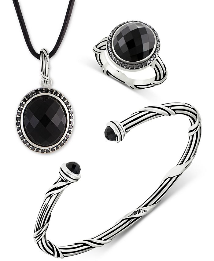 Peter Thomas Roth - Onyx Jewelry Collection in Sterling Silver