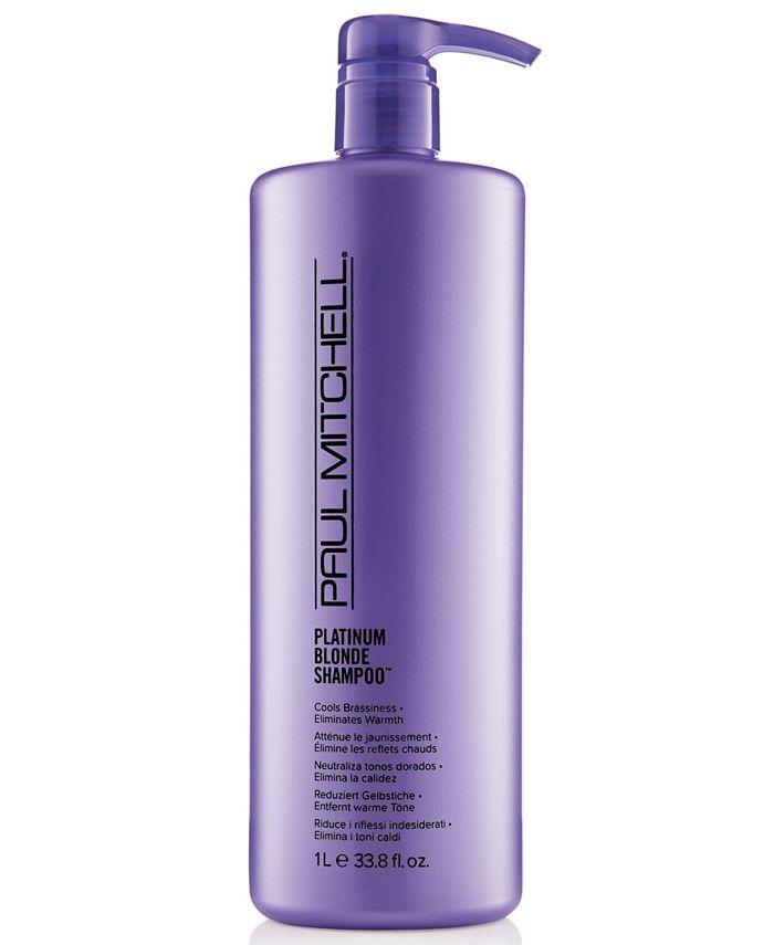 Paul Mitchell - Platinum Blonde Shampoo, 33.8-oz.