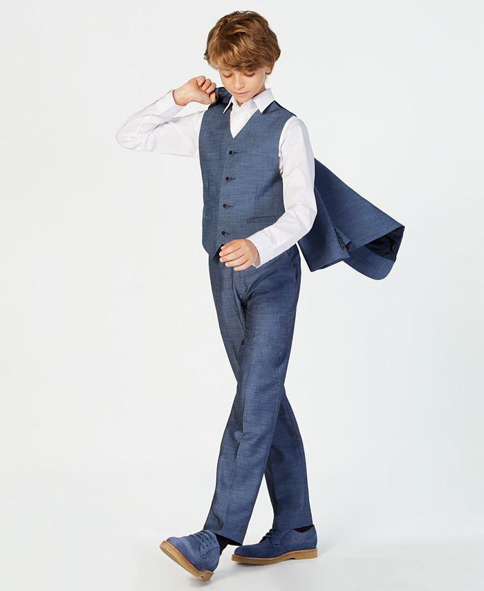 Calvin Klein - Plain Weave Pants, Big Boys