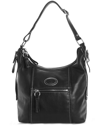 Giani Bernini Collection Soft Luxe Leather Double Entry Hobo