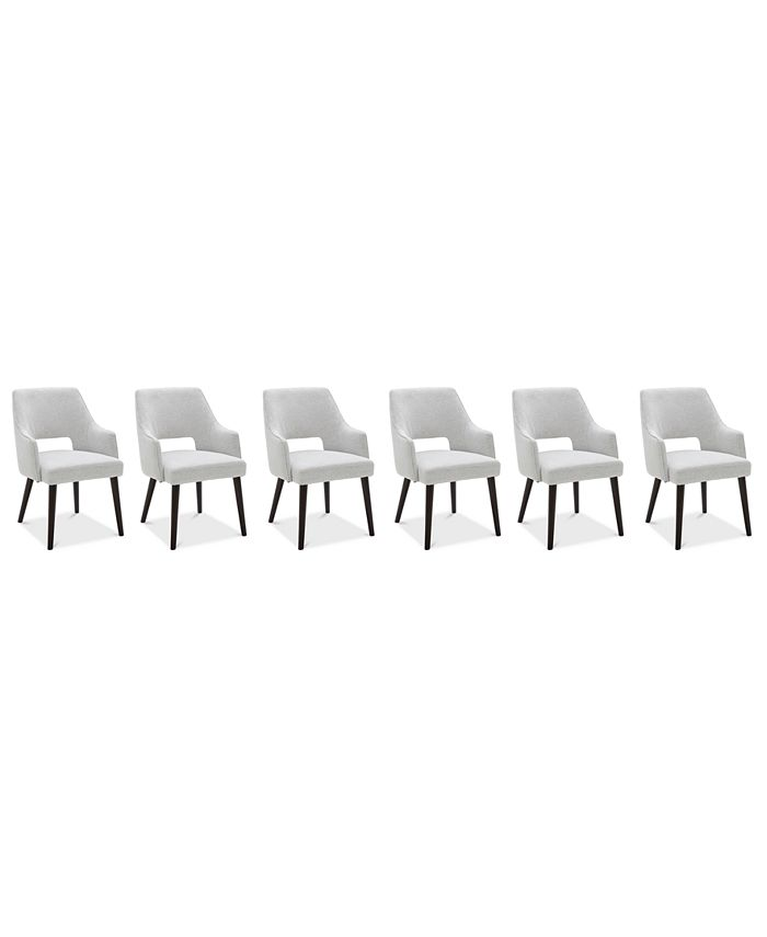 Furniture - Aspen Dining , 6-Pc. Set (6 Host Chairs)