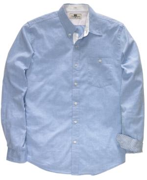 Club Room Shirt, Solid Oxford