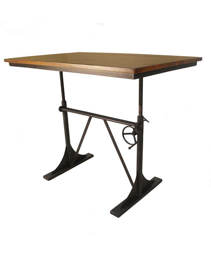 Carolina Classics - Houseman Adjustable Table, Quick Ship
