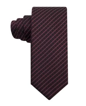 Alfani RED Tie, 2 Inch Broad Stripe Skinny Tie