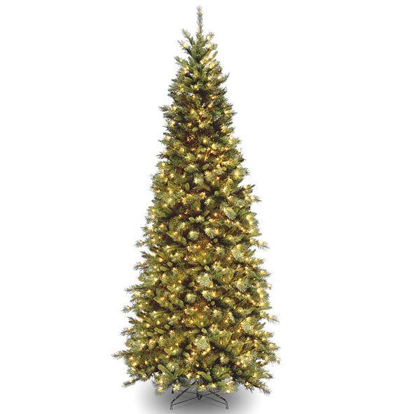 National Tree Company National Tree Tiffany Slim Fir Tree With 700 Clear Lights